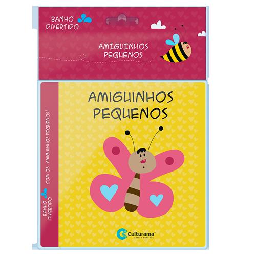 LIVRO DE BANHO AMIGUINHOS PEQUENOS