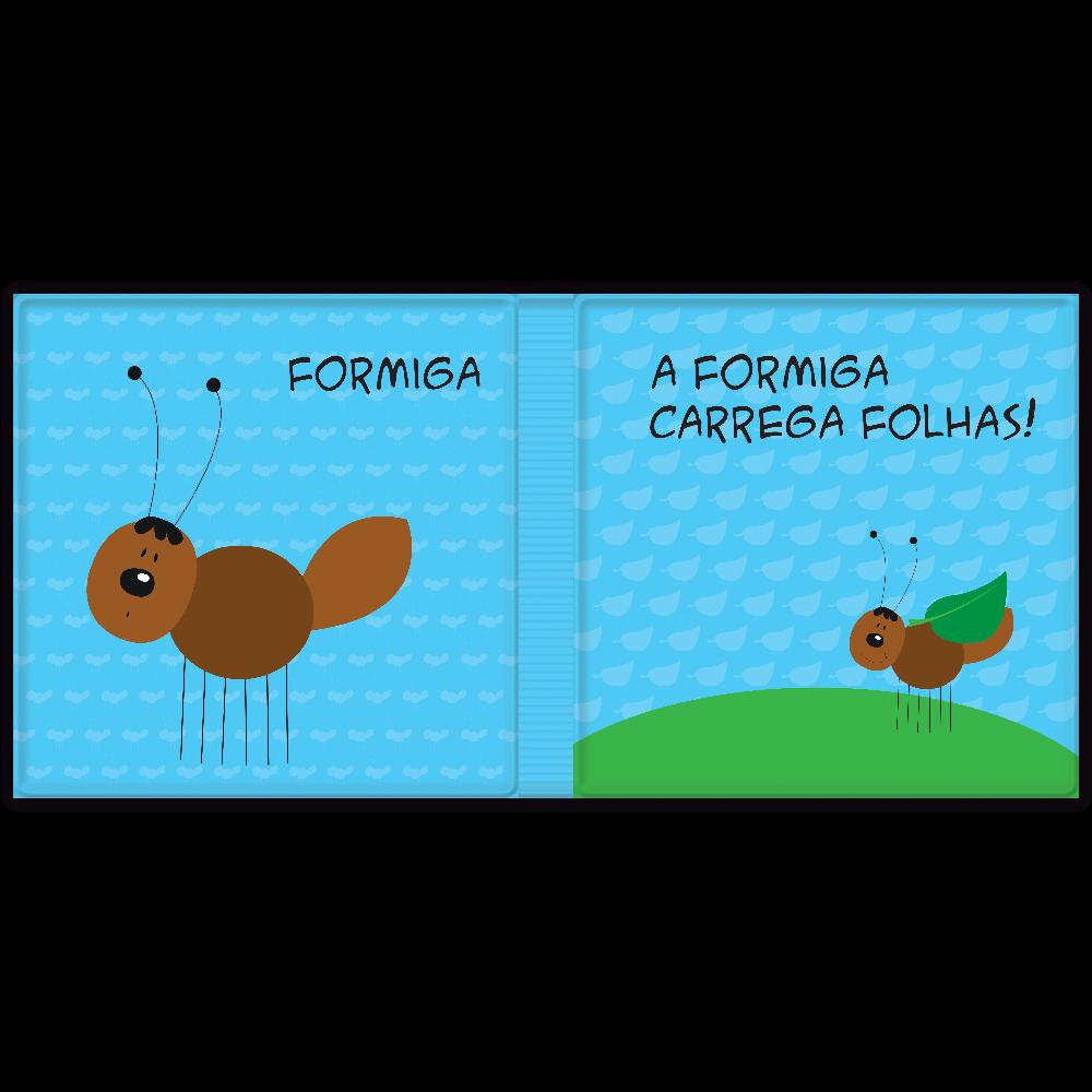 LIVRO DE BANHO-AMIGUINHOS PEQUENOS