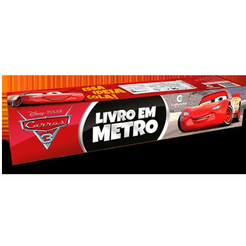 LIVRO EM METRO CARROS 3