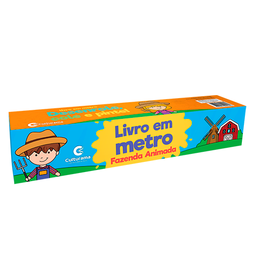 LIVRO EM METRO FAZENDA ANIMADA