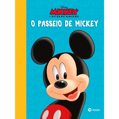 LIVRO RECORTADO DISNEY - MICKEY