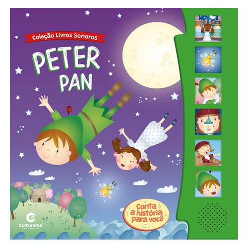 LIVRO SONORO PETER PAN