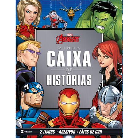 MINHA CAIXA DE HISTÓRIAS VINGADORES