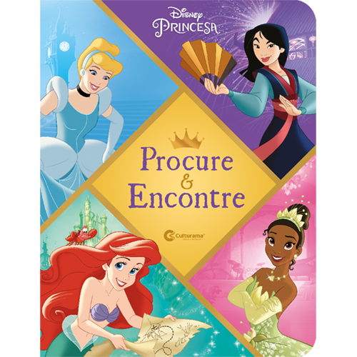 PROCURE E ENCONTRE - DISNEY PRINCESA