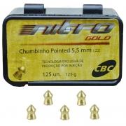 CHUMBINHO 5,5MM POINTED NITRO GOLD - CBC