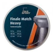 CHUMBINHO FINALE MATCH HEAVY 4.5MM 500UND - H&N SPORT