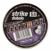 CHUMBINHO STRIKE DIABOLO 5,5MM 250UND - TECHNOGUN