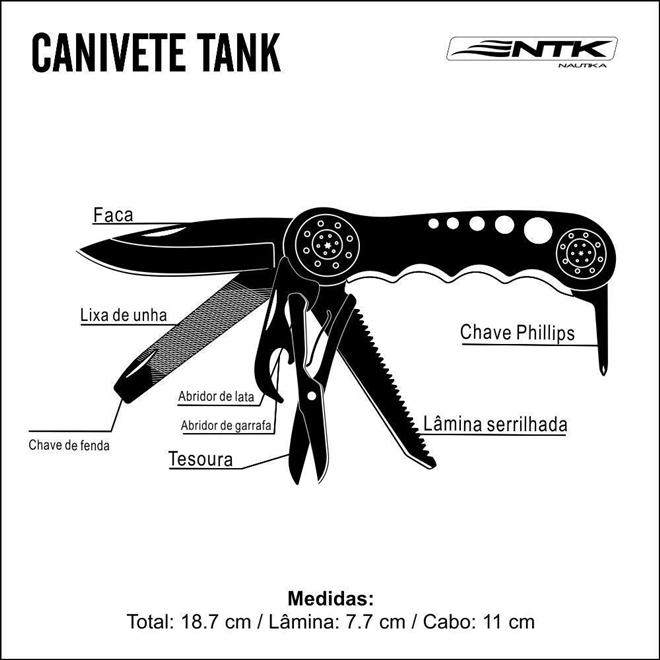 CANIVETE TANK - NAUTIKA