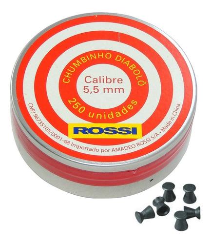 CHUMBINHO DIABOLO 5,5MM - ROSSI