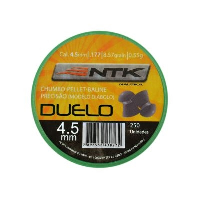 CHUMBINHO DUELO 4,5 C/ 250 UNIDADES - NAUTIKA
