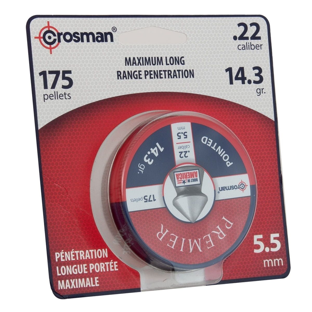CHUMBINHO HUNTING 5,5MM C/175UND - CROSMAN
