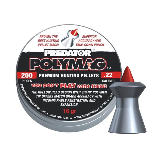 CHUMBINHO PREDATOR POLYMAG CAL 5,5MM (200 UN) - JSB