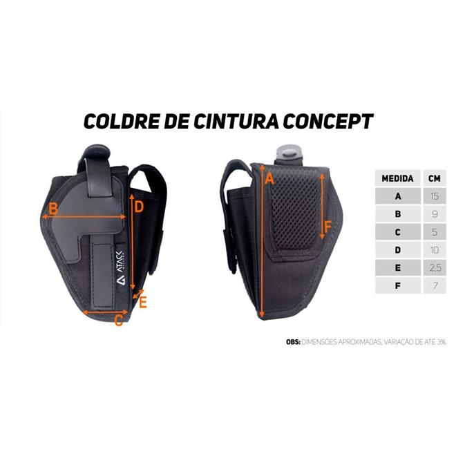 COLDRE DE CINTURA CONCEPT - ATACK