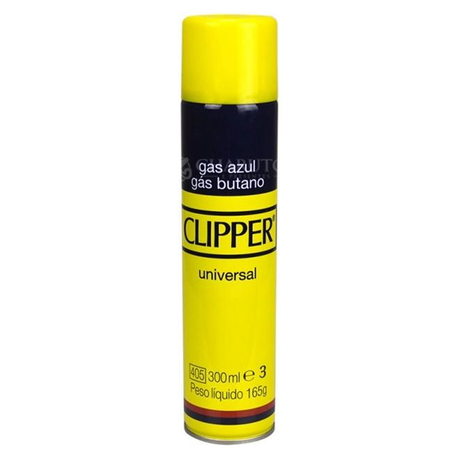 GÁS BUTANO 300ML - CLIPPER