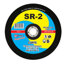 Disco de Corte 10x3/4 - SR2