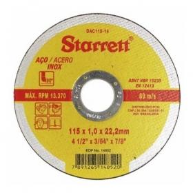 Disco de Corte Fino 7x1,6 - Starret