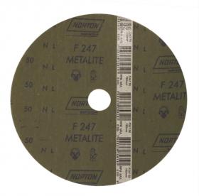 Disco de Fibra/LIXA Norton F212 - Kit com 10 Unidades