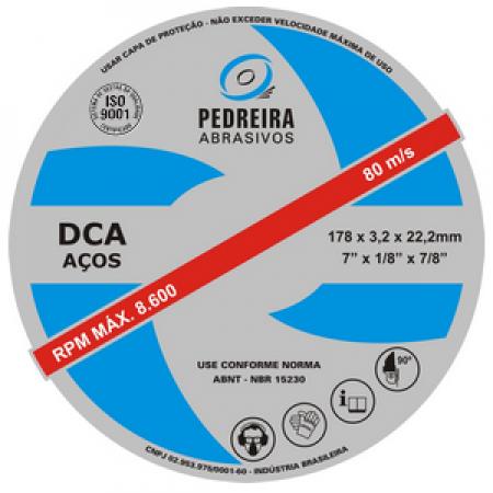 Disco de Corte 12x5/8 - Pedreira