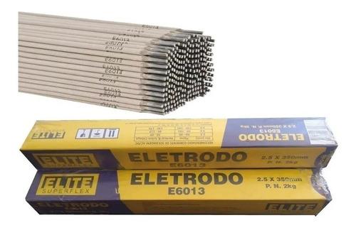 Eletrodo 2,50 Elite 6013 - Caixa com 1 kg