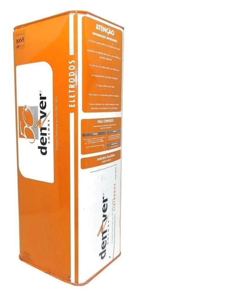 Eletrodo Denver 7018 3,25mm - Caixa com 1kg