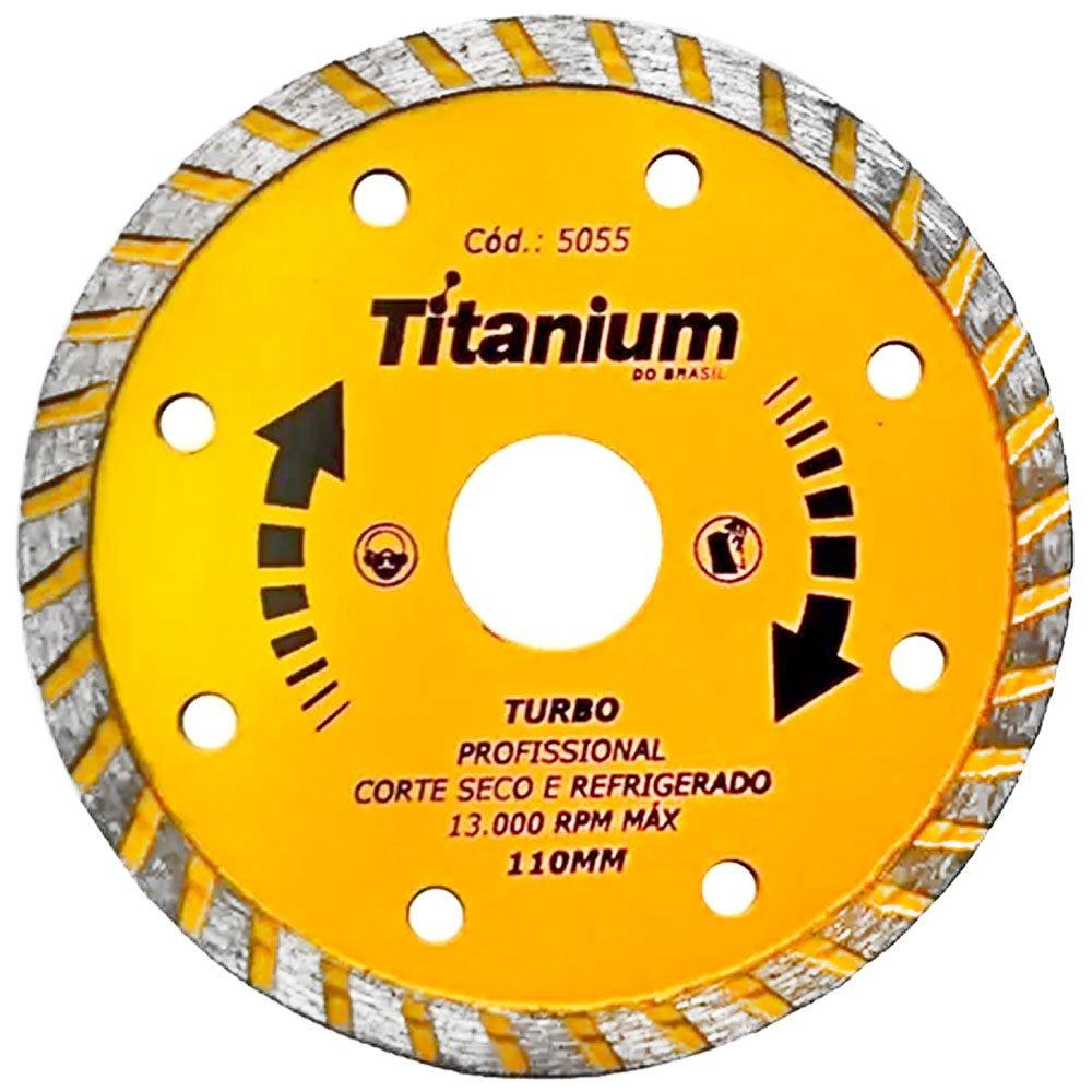 Disco Diamantado Turbo 110mm x 22mm