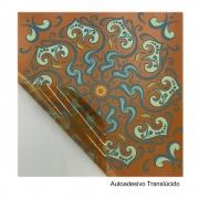 Adesivo Decorativo Azulejo 8 pc 15cm X 15cm Estampado