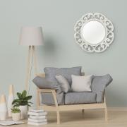 Espelho Redondo Vênus 60x60x4cm Branco