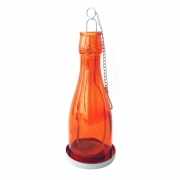Lanterna Decorativa Metal Joy Laranja