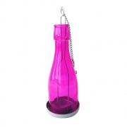 Lanterna Decorativa Metal Joy Rosa