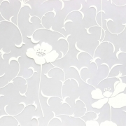 Revestimento Autoadesivo Rolo 2m - Floral Papoula
