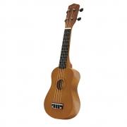 Ukulele Queen's Soprano 21' D186165 Caramelo