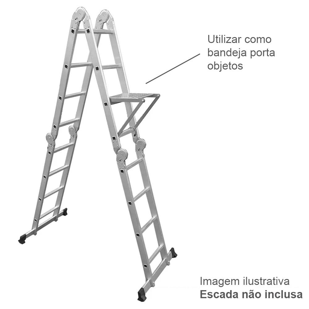 Bandeja para Escada Multifuncional D180360 - Evolux Tools