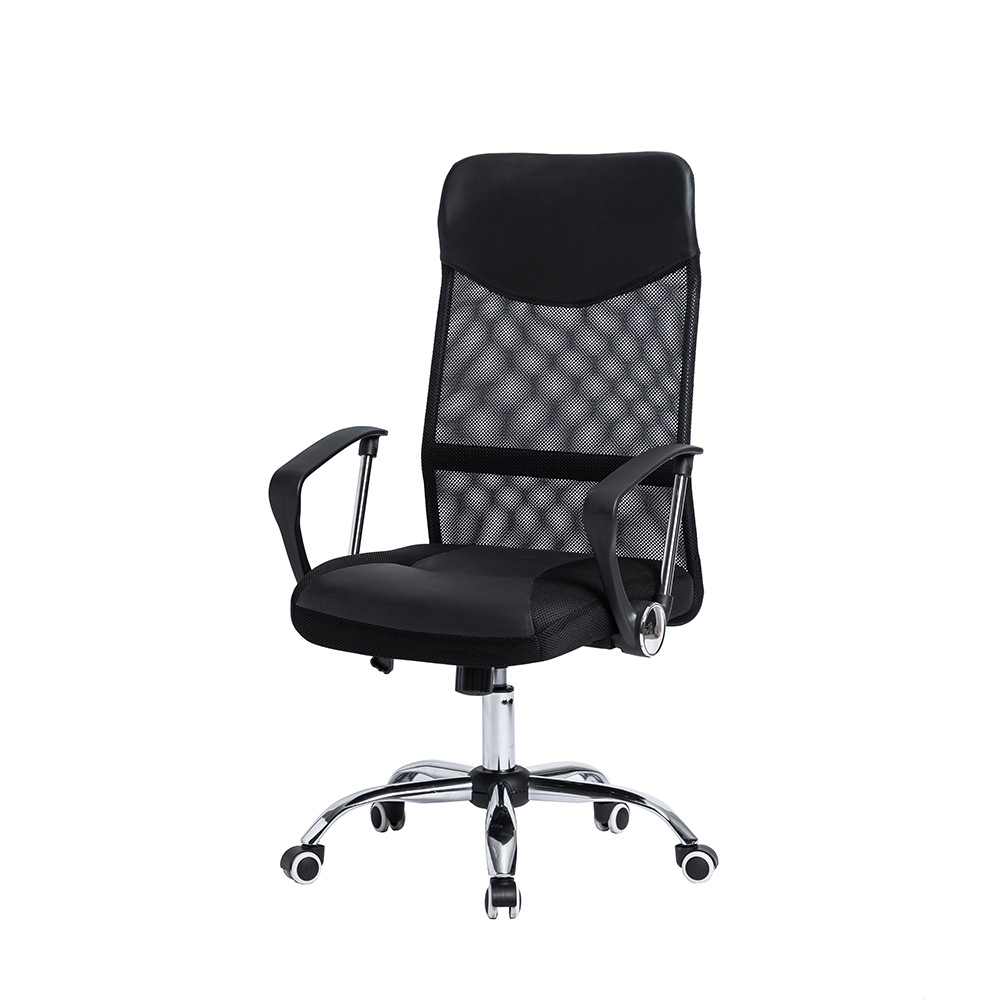 Cadeira Giratória Office Executive Preta