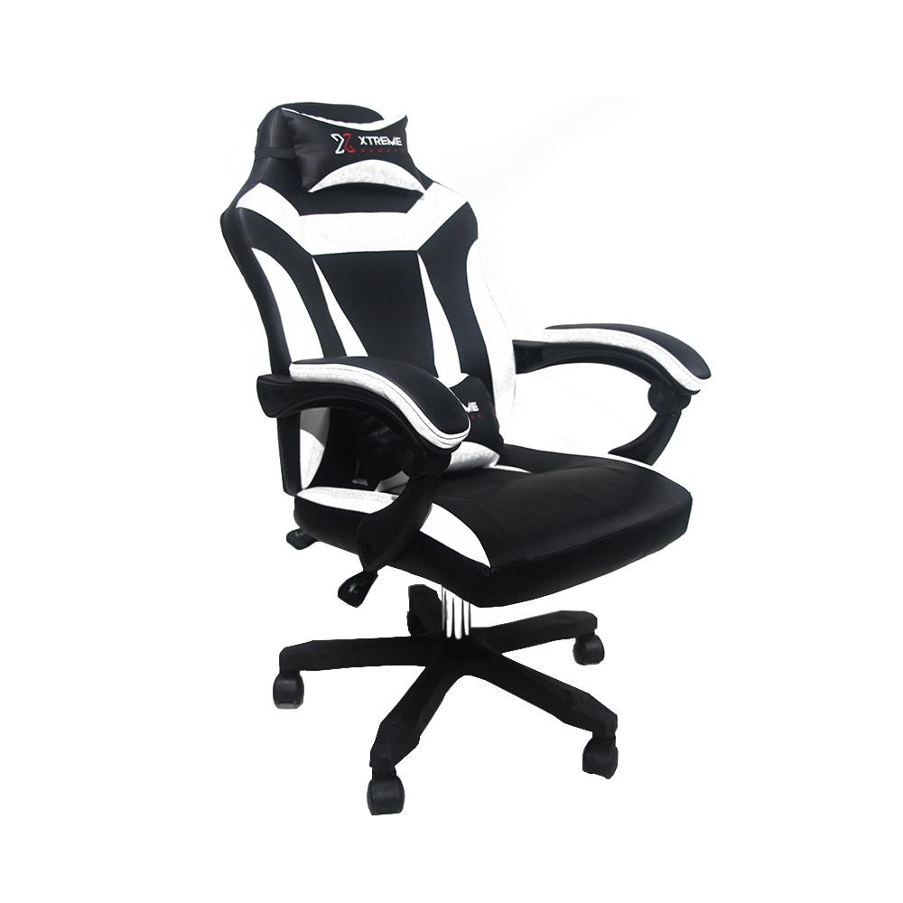 Cadeira XTreme Gamers Supra Preta e Branca