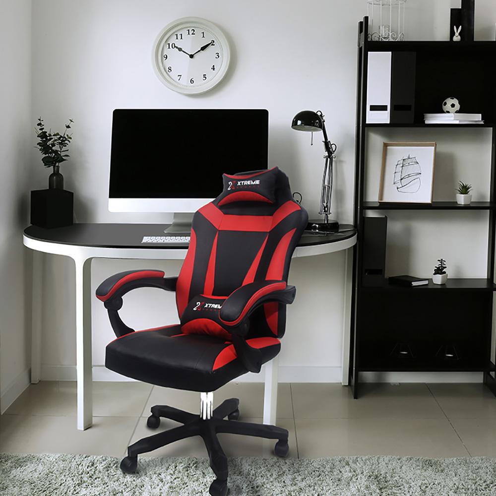 Cadeira XTreme Gamers Supra Preta e Vermelha