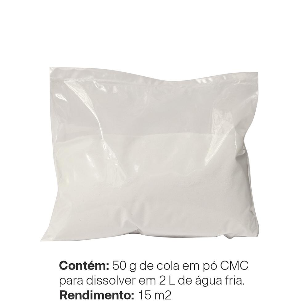 Cola em Pó para Papel de Parede Evolux - 50 gramas