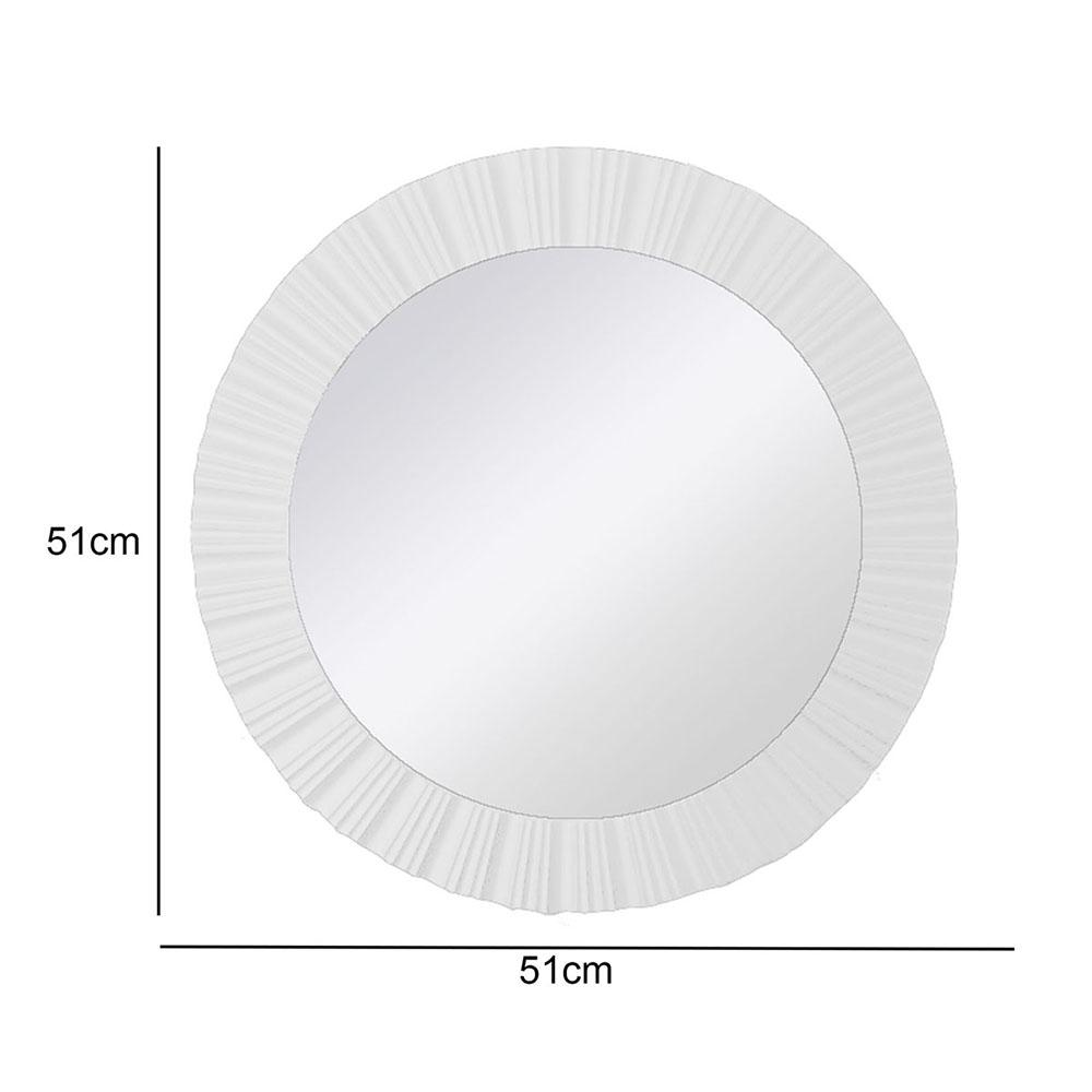 Espelho Branco 51x51x4 5 Cm