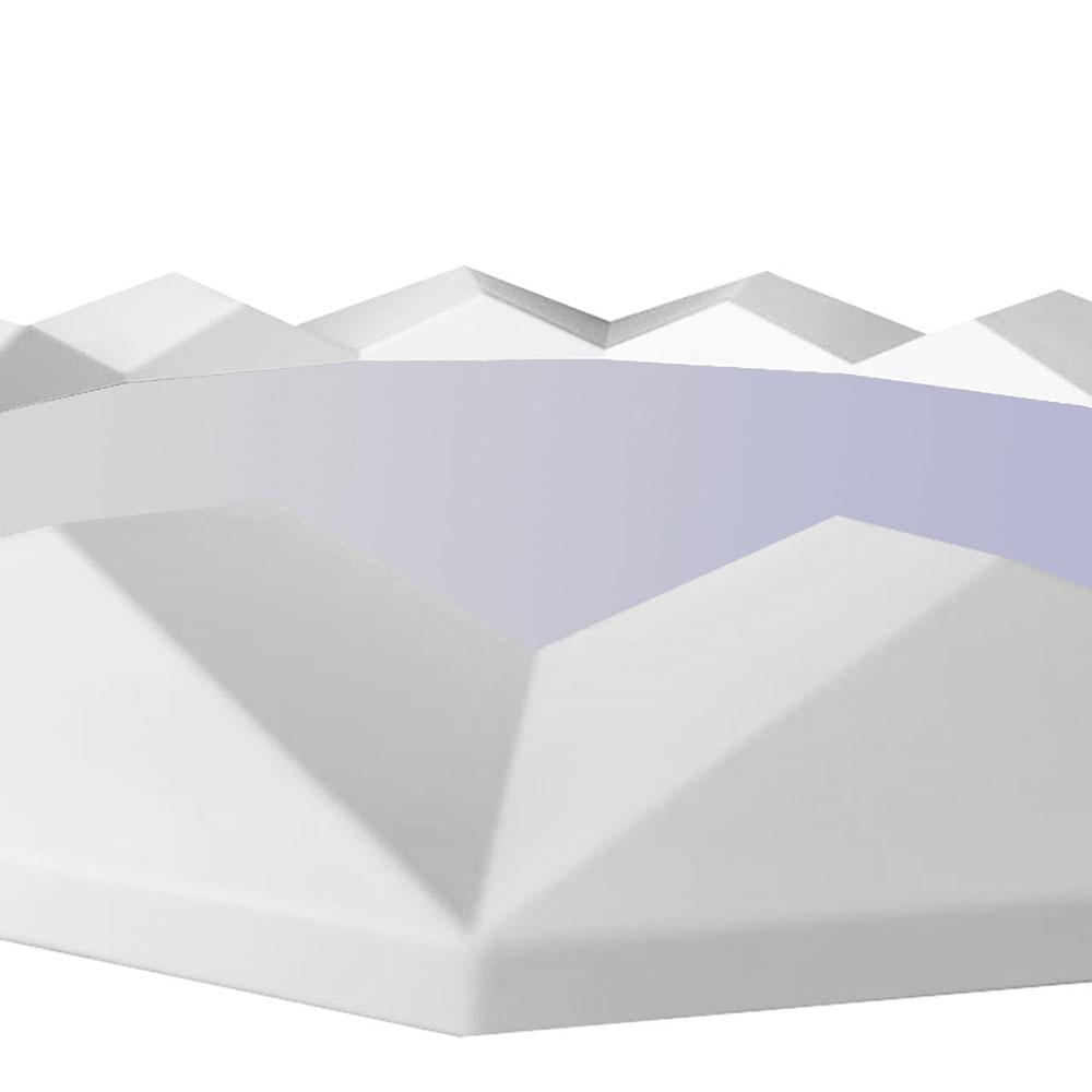 Espelho Branco 60x60x4cm