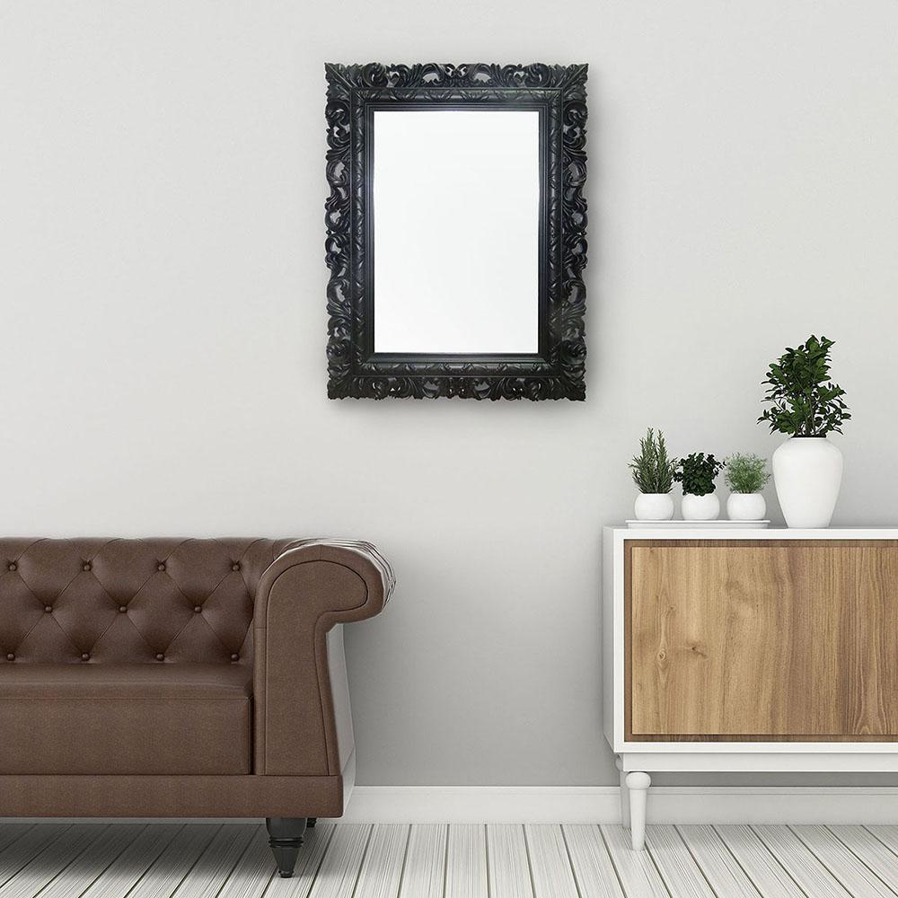 Espelho Preto 51x66x4cm