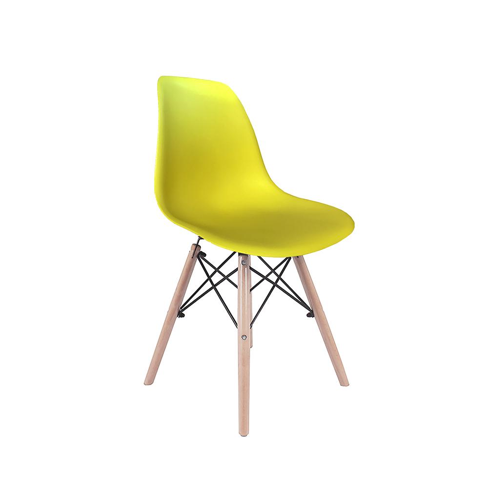 Kit 4 Cadeiras Eiffel Inova - Amarela