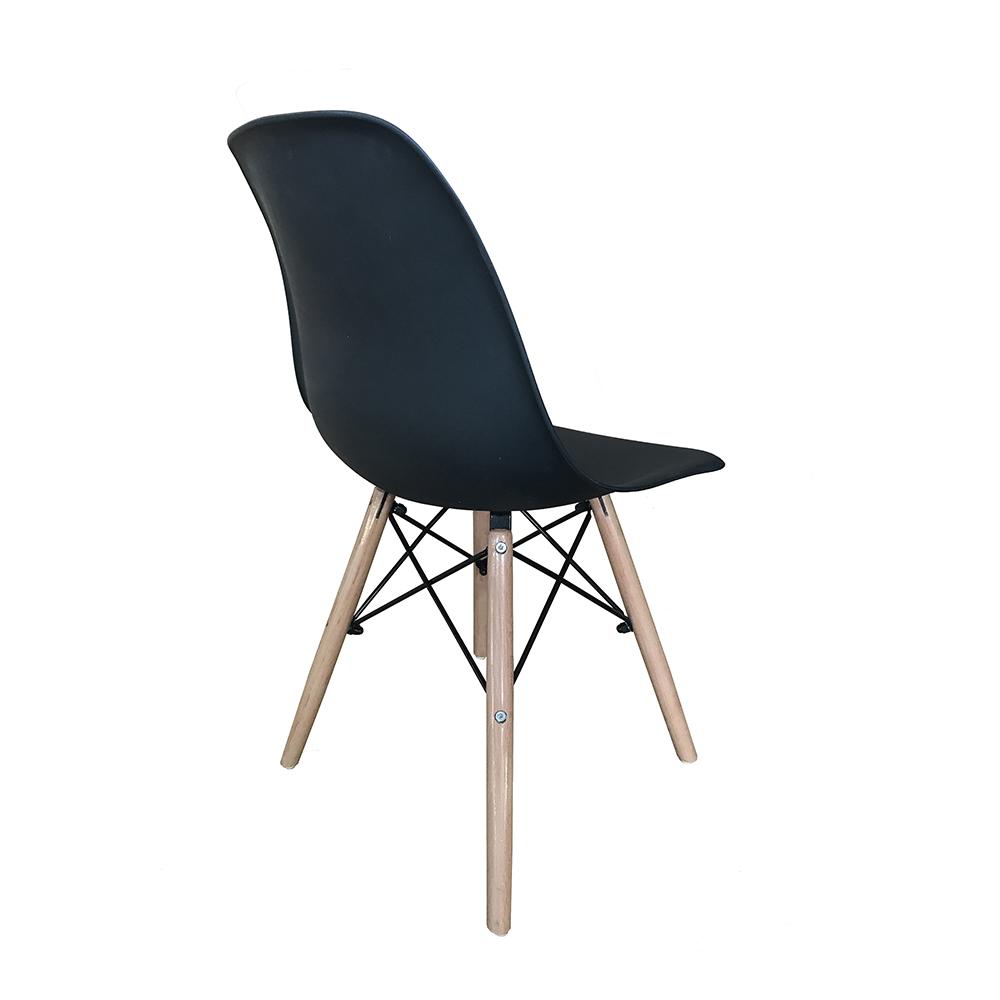 Kit 4 Cadeiras Eiffel Inova - Preta