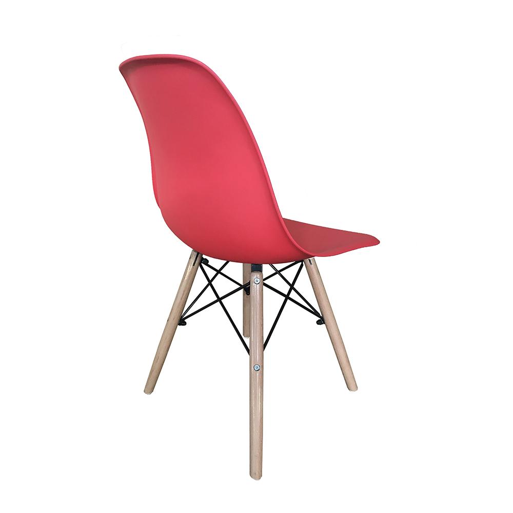 Kit 4 Cadeiras Eiffel Inova - Vermelha