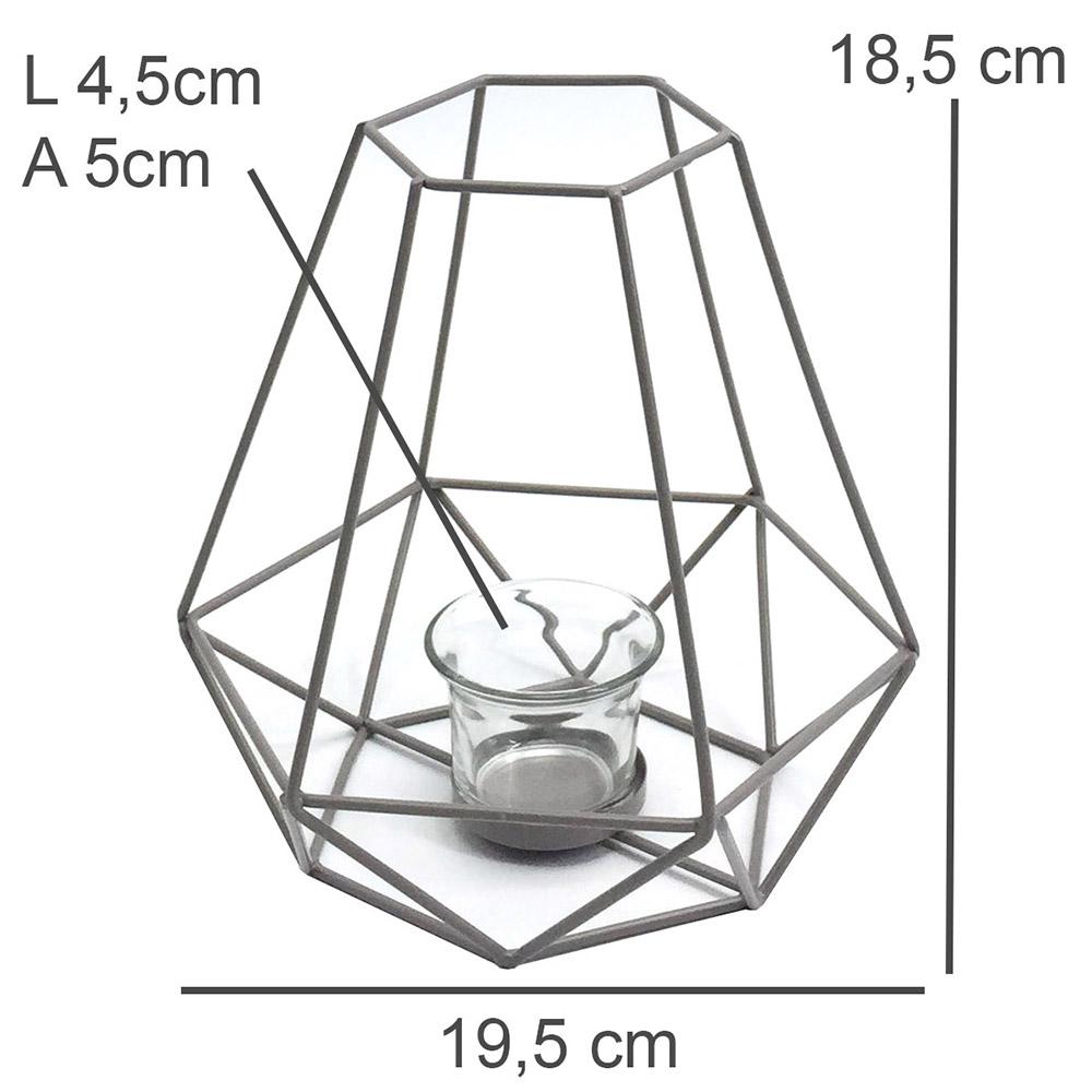 Lanterna Metal Mandy A
