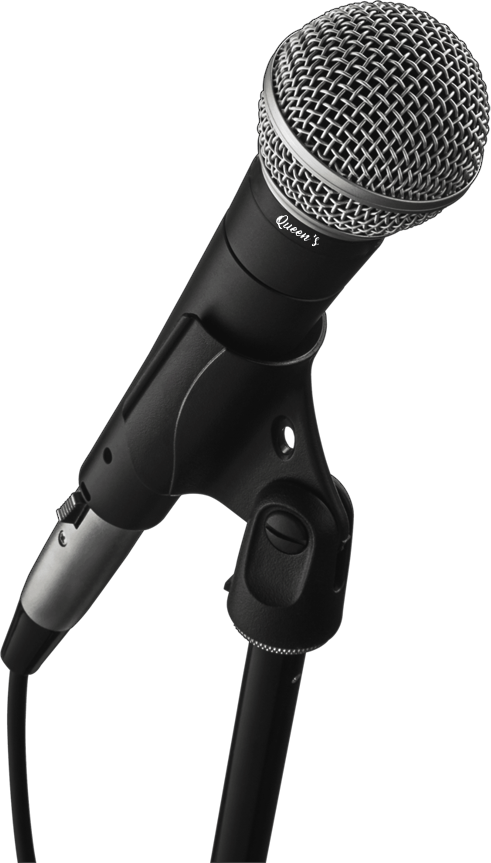 Microfone Queen's p/ Vozes