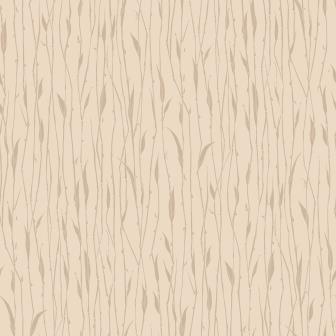 Papel de Parede Vinílico Evolux - 9,50mX53cm - Folhagem Bege