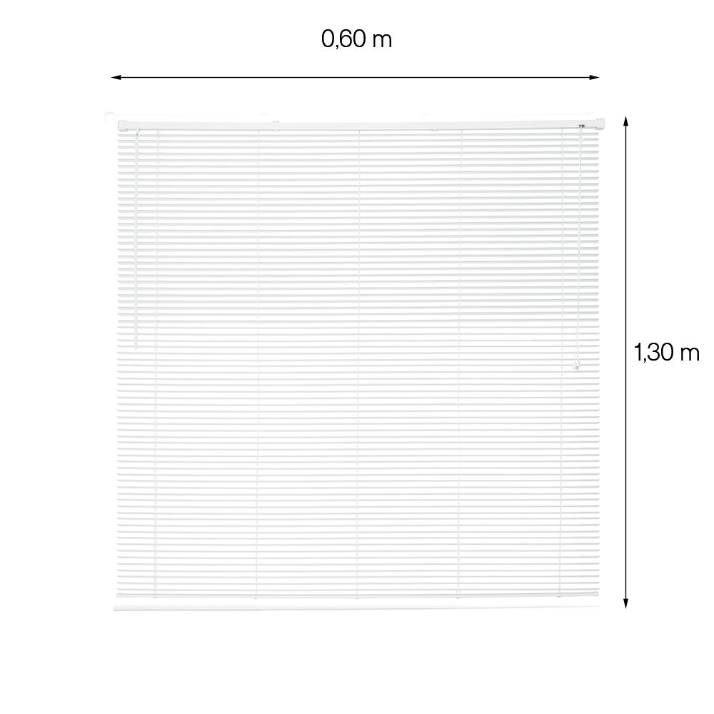 Persiana Horizontal OFF - 0,60x1,30m - Branca