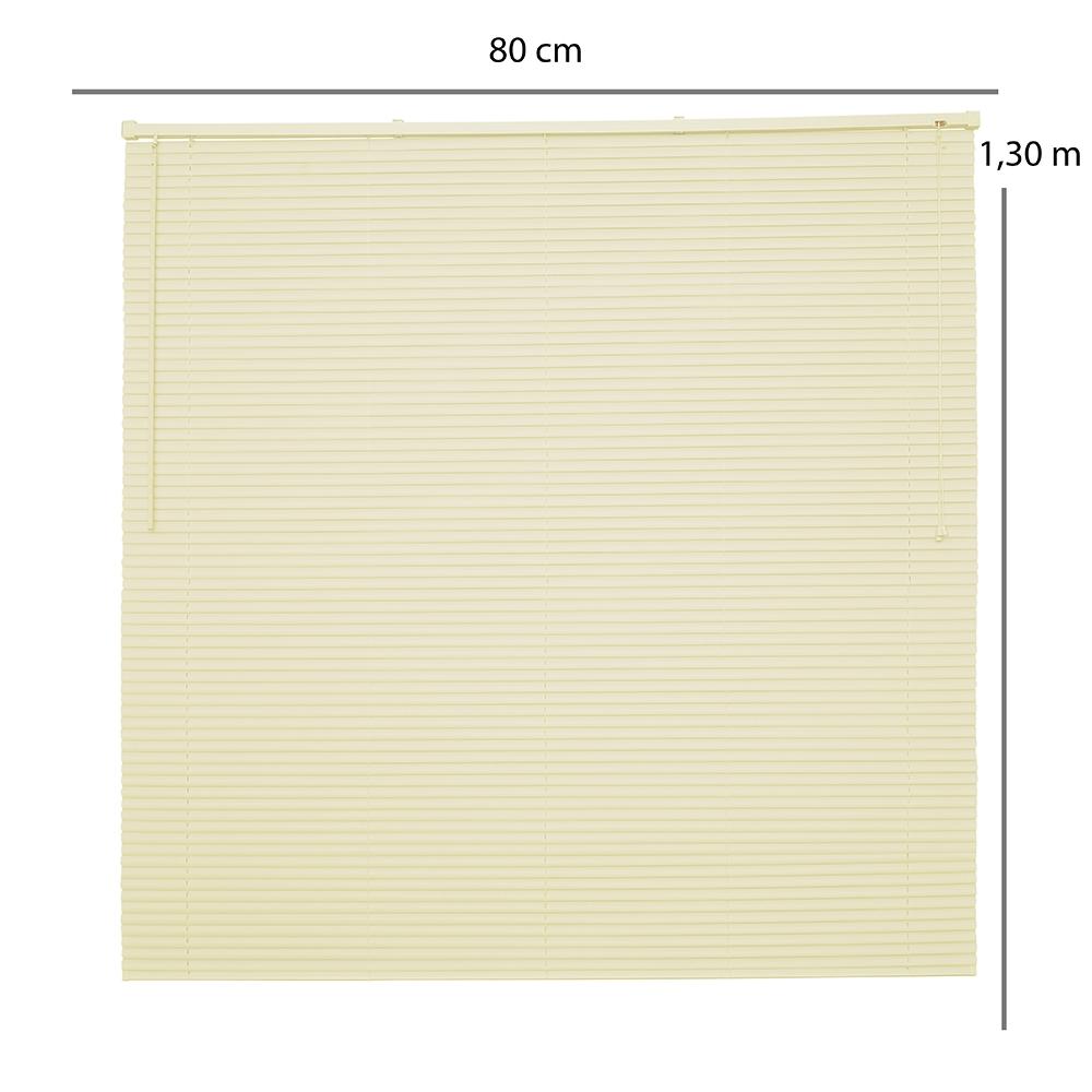 Persiana Horizontal OFF - 0,80x1,30m - Bege