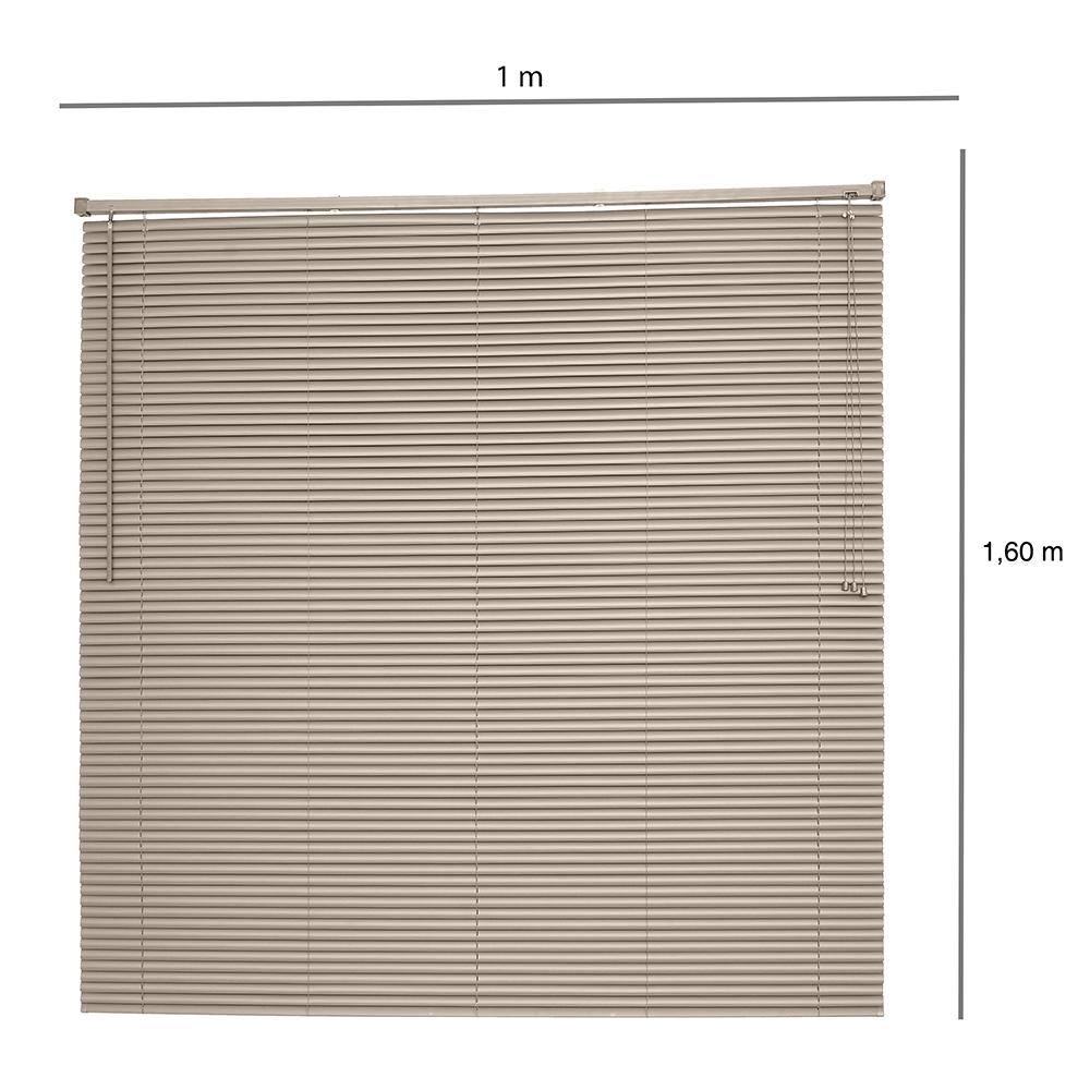 Persiana Horizontal Premier - 1,00x1,60m - Fendi Caramelo