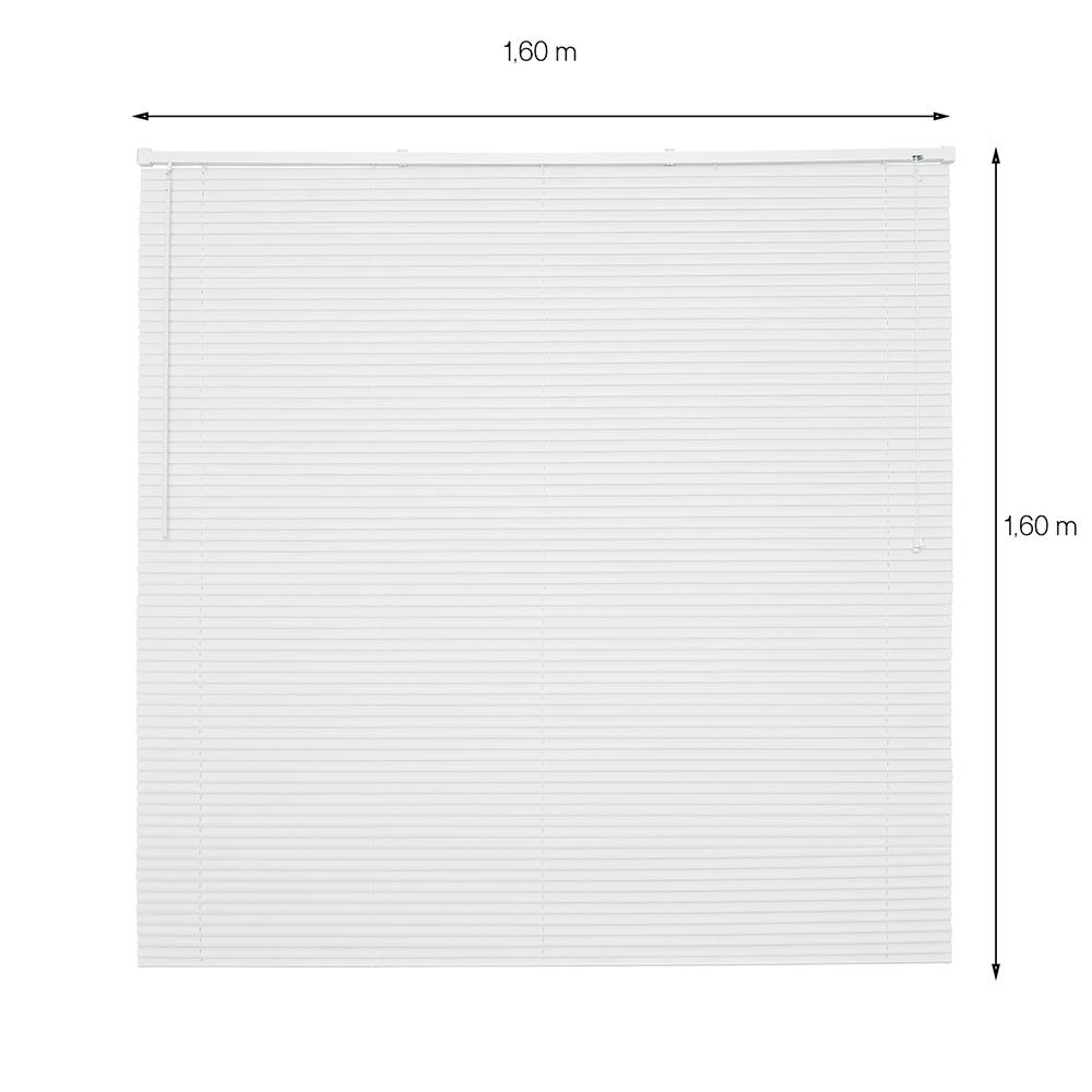 Persiana Horizontal Premier - 1,60x1,60m - Branco
