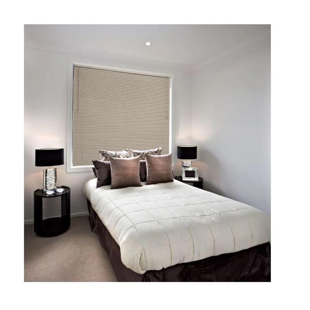 Persiana Horizontal PVC Premier - 1,40x1,60m - Caramelo